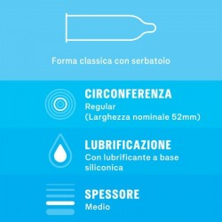 SETTEBELLO CLASSICO DUREX CONDOMS 6 UNITS