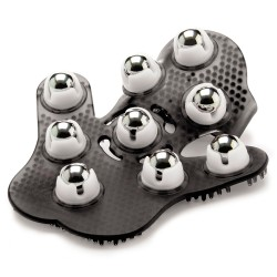 TOUCHÉ MANUAL MASSAGER WITH 9 SPHERES BLACK