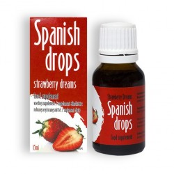 SPANISH DROPS STRAWBERRY DREAMS DROPS 15ML