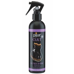 SPRAY BRILHANTE PJUR CULT ULTRA SHINE PARA LÁTEX E BORRACHA 250ML