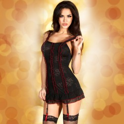 BABYDOLL AND THONG CR-3490