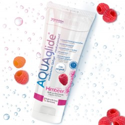 AQUAGLIDE RASPBERRY LUBRICANT 100ML
