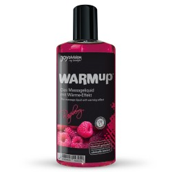 WARMUP EDIBLE MASSAGE OIL  RASPBERRY 150ML