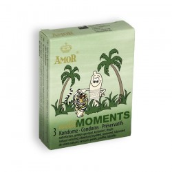 WILD MOMENTS CONDOMS 3 UNITS