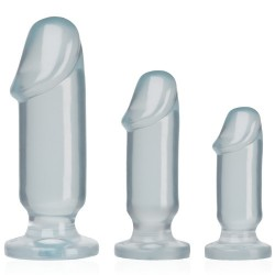 KIT DE PLUGS ANAIS ANAL STARTER KIT TRANSPARENTE