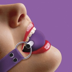 OUCH! SOLID BALL GAG PURPLE