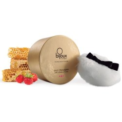 KISSABLE BODY POWDER BIJOUX INDISCRETS WILD STRAWBERRY AND HONEY 45GR