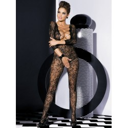 OBSESSIVE BODYSTOCKING F200 BLACK