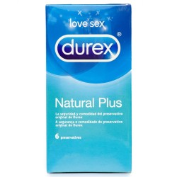 NATURAL PLUS DUREX CONDOMS 6 UNITS