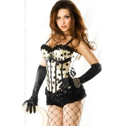 CORSET AND THONG CR-3344